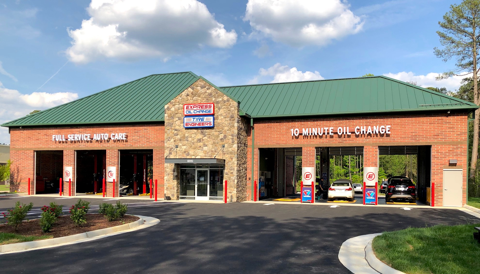 Express Oil Change & Tire Engineers Chester, VA - Ironbridge store