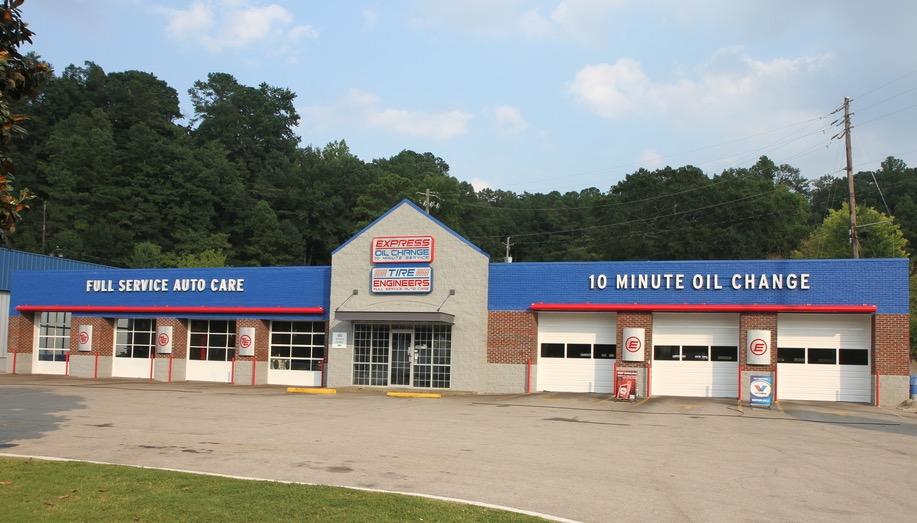 Express Oil Change & Tire Engineers at Vestavia Hills, AL - Montgomery Highway store