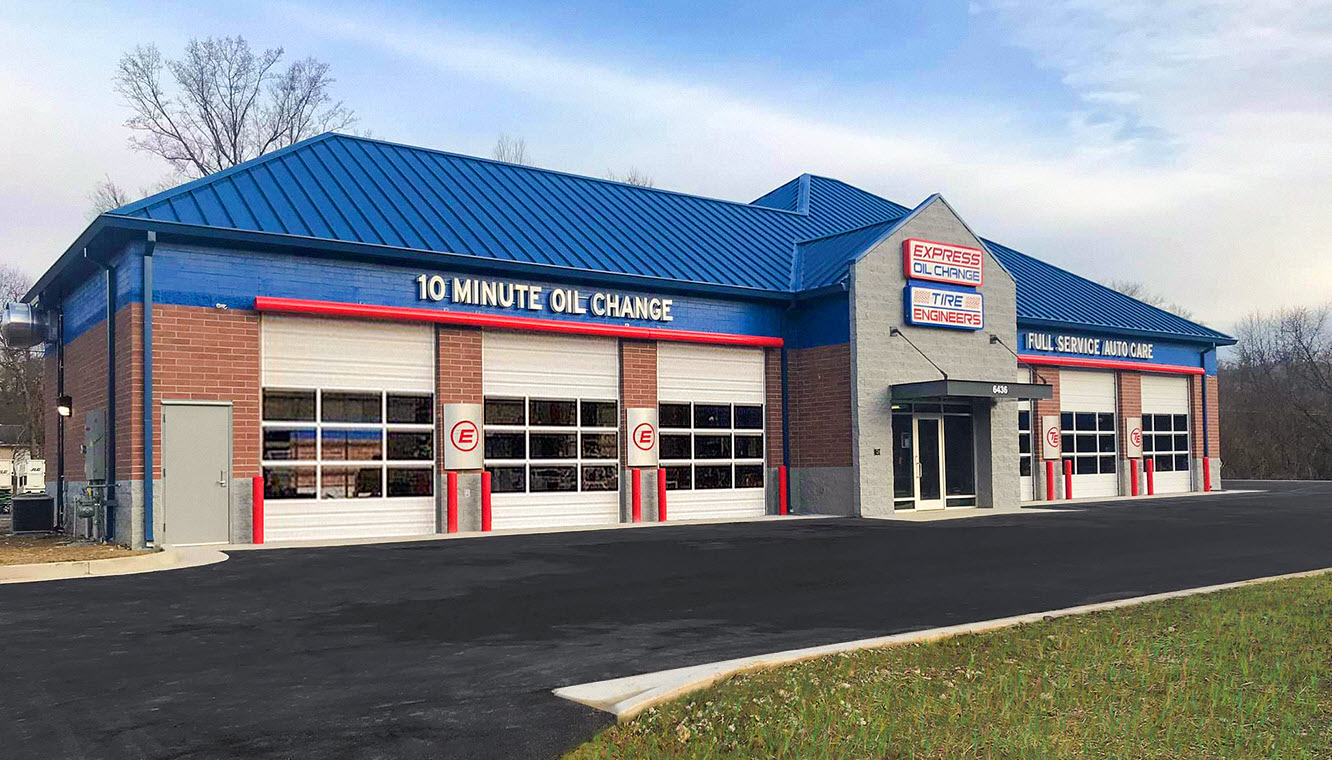 Express Oil Change & Tire Engineers Barboursville, WV - Pea Ridge store