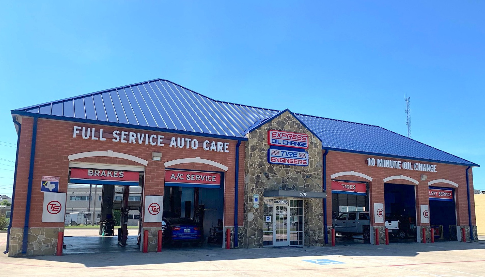 Express Oil Change & Tire Engineers at Hurst, TX - North Richland Hills store