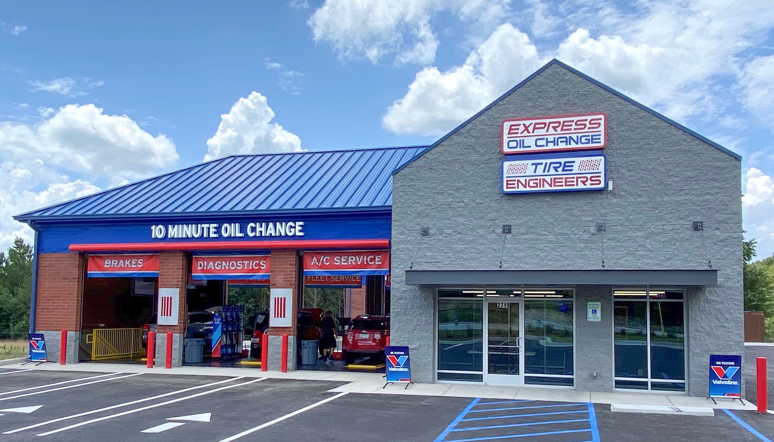 Express Oil Change & Tire Engineers at Columbia, SC - Killian store