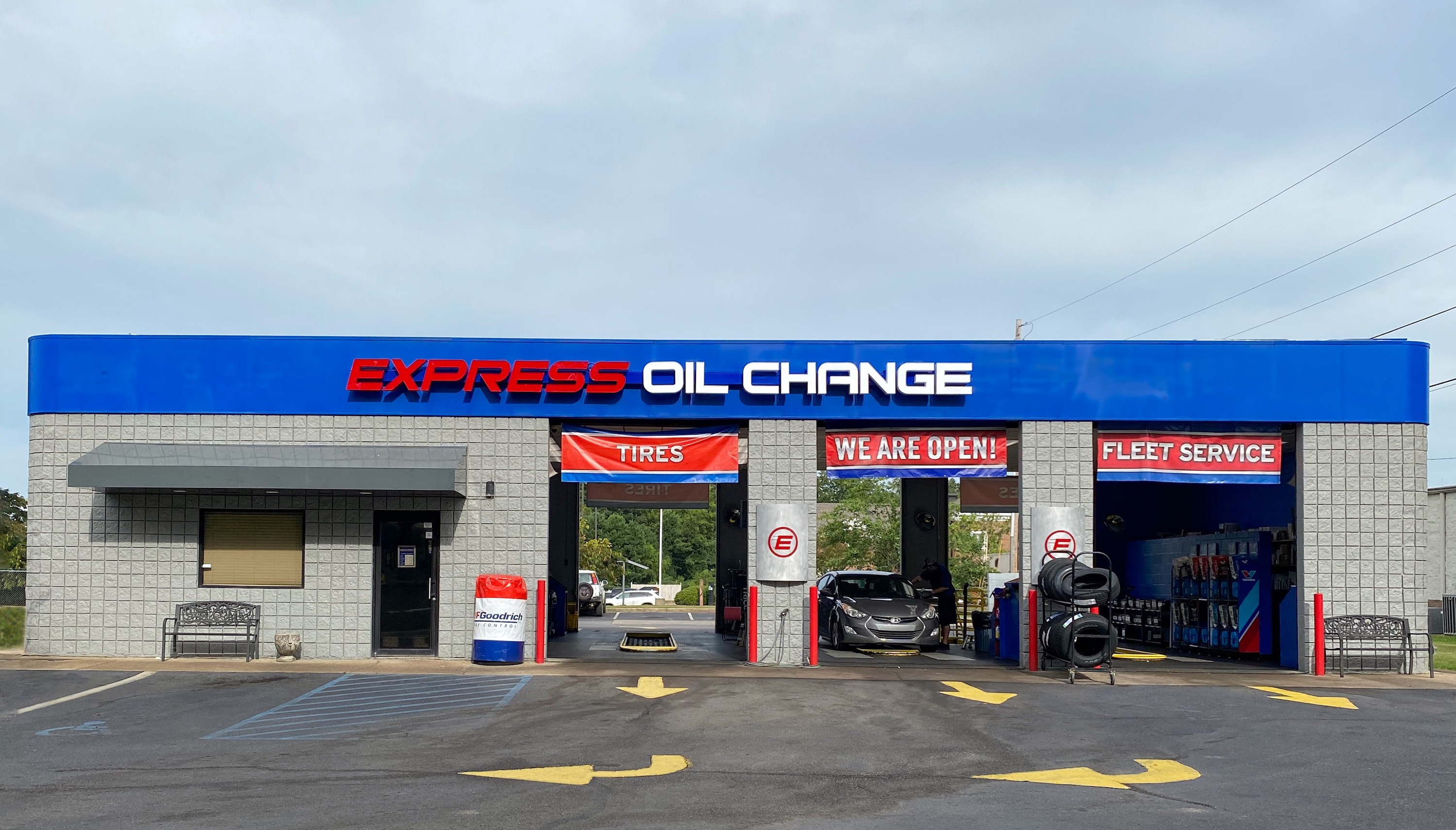 Express Oil Change & Tire Engineers Jasper, AL - Jasper Square store