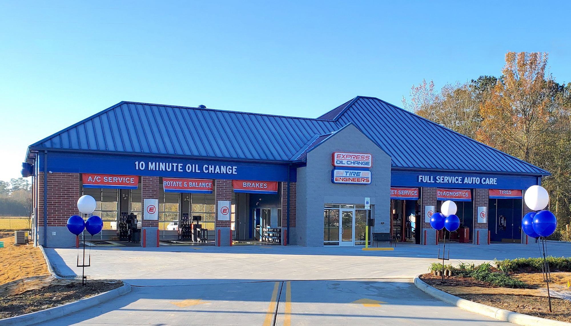 Express Oil Change & Tire Engineers at Hammond, LA - West store