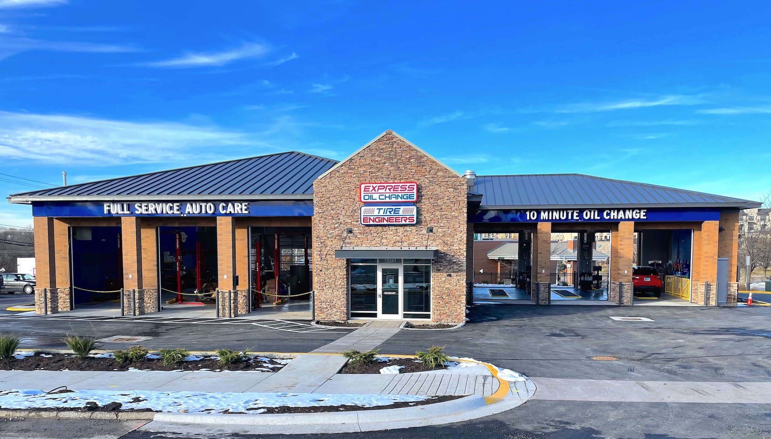Express Oil Change & Tire Engineers at Olathe, KS - Ridgeview store