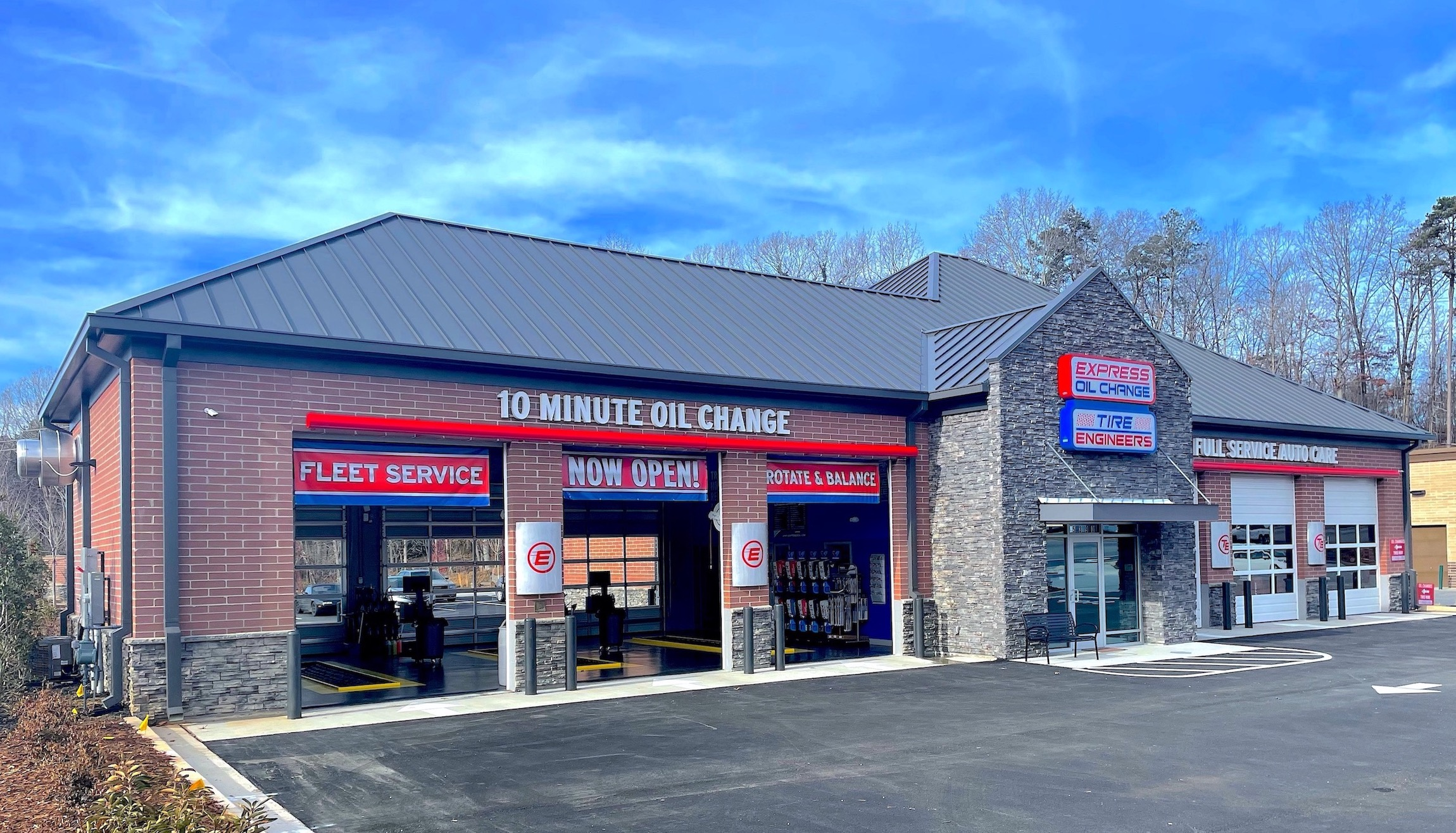 Express Oil Change & Tire Engineers at Holly Springs, GA - Toonigh Village store
