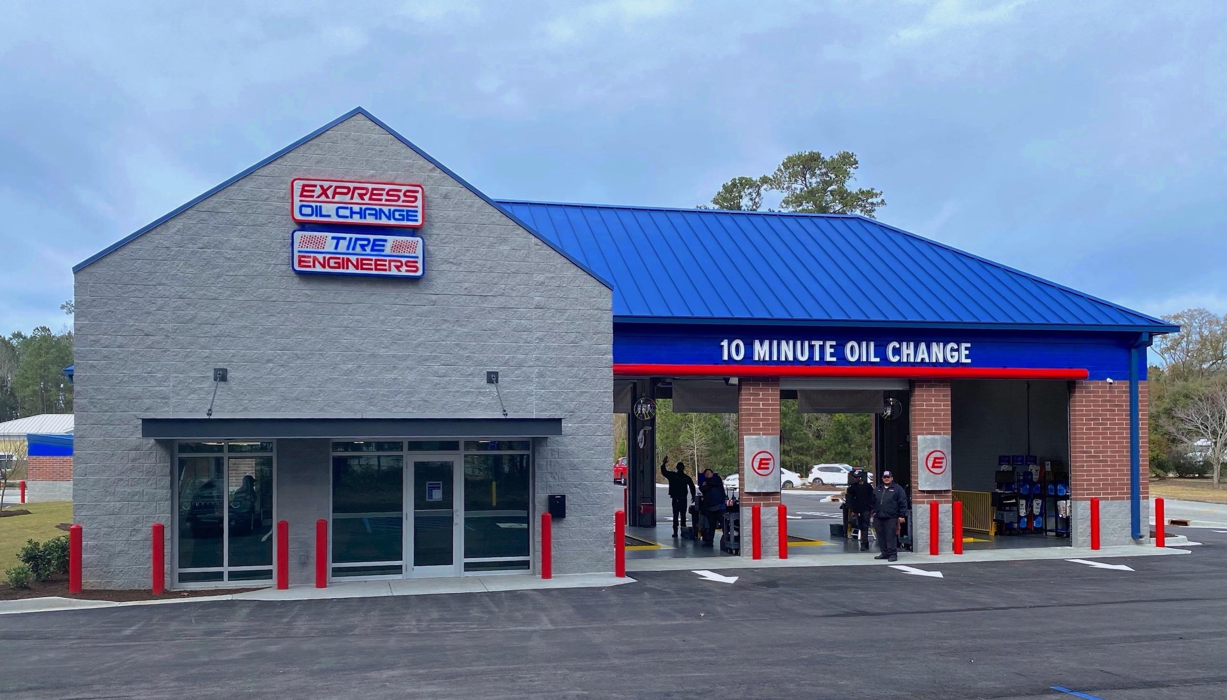 Express Oil Change & Tire Engineers at Savannah, GA - Berwick store