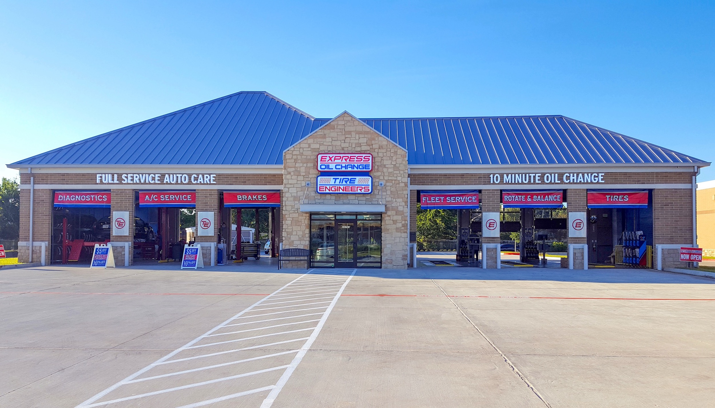 Express Oil Change & Tire Engineers at Katy, TX - Morton Ranch store