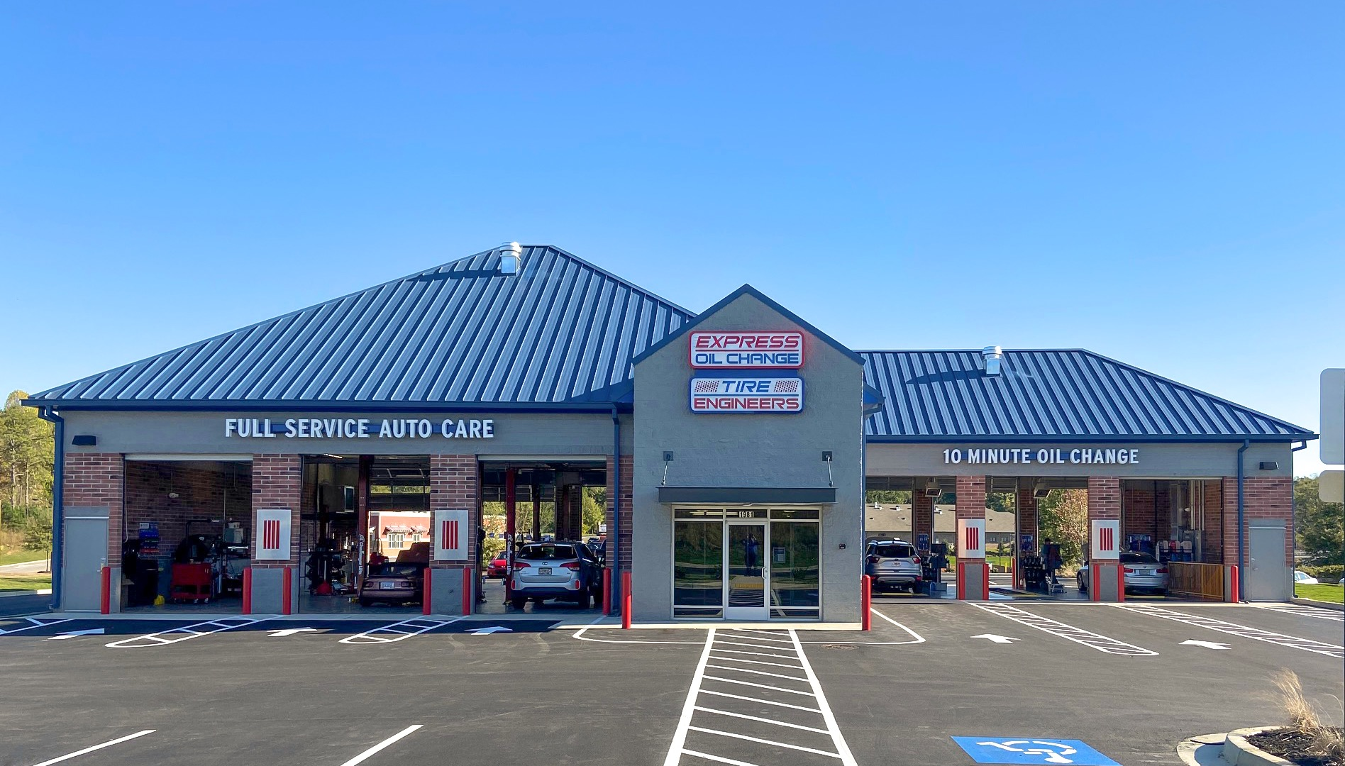 Express Oil Change & Tire Engineers at Gainesville, GA - New Holland store