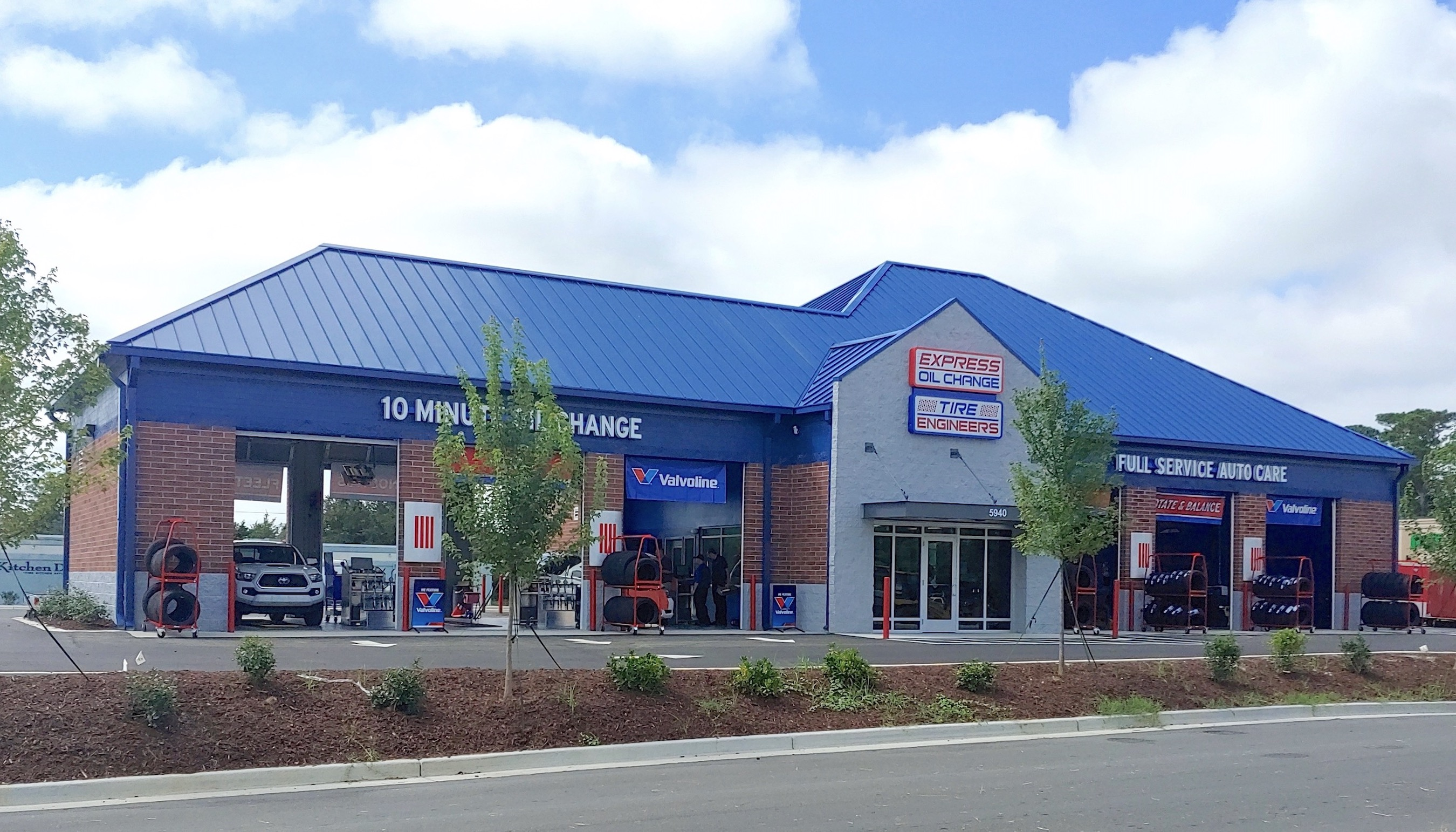 Express Oil Change & Tire Engineers at Wilmington, NC - Monkey Junction store