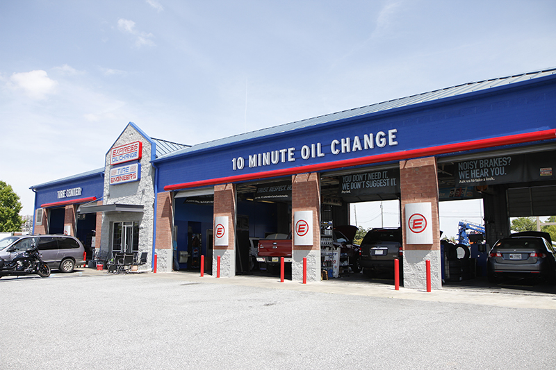 Express Oil Change & Tire Engineers Columbus, GA - Whittlesey Road store
