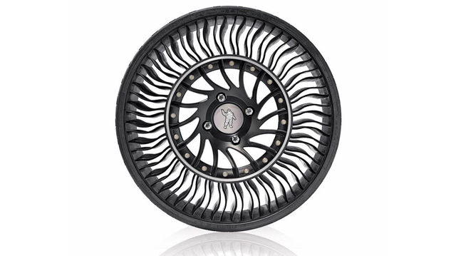 Michelin Tweel This Tire S Name Is A Clever Combination Of Wheel And Describes Its Construction Perfectly It Comprised Thin Rubber Tread