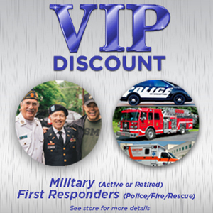Military & First VIP Discount Military & First Responders