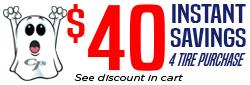 $40 in Spooktacular Savings