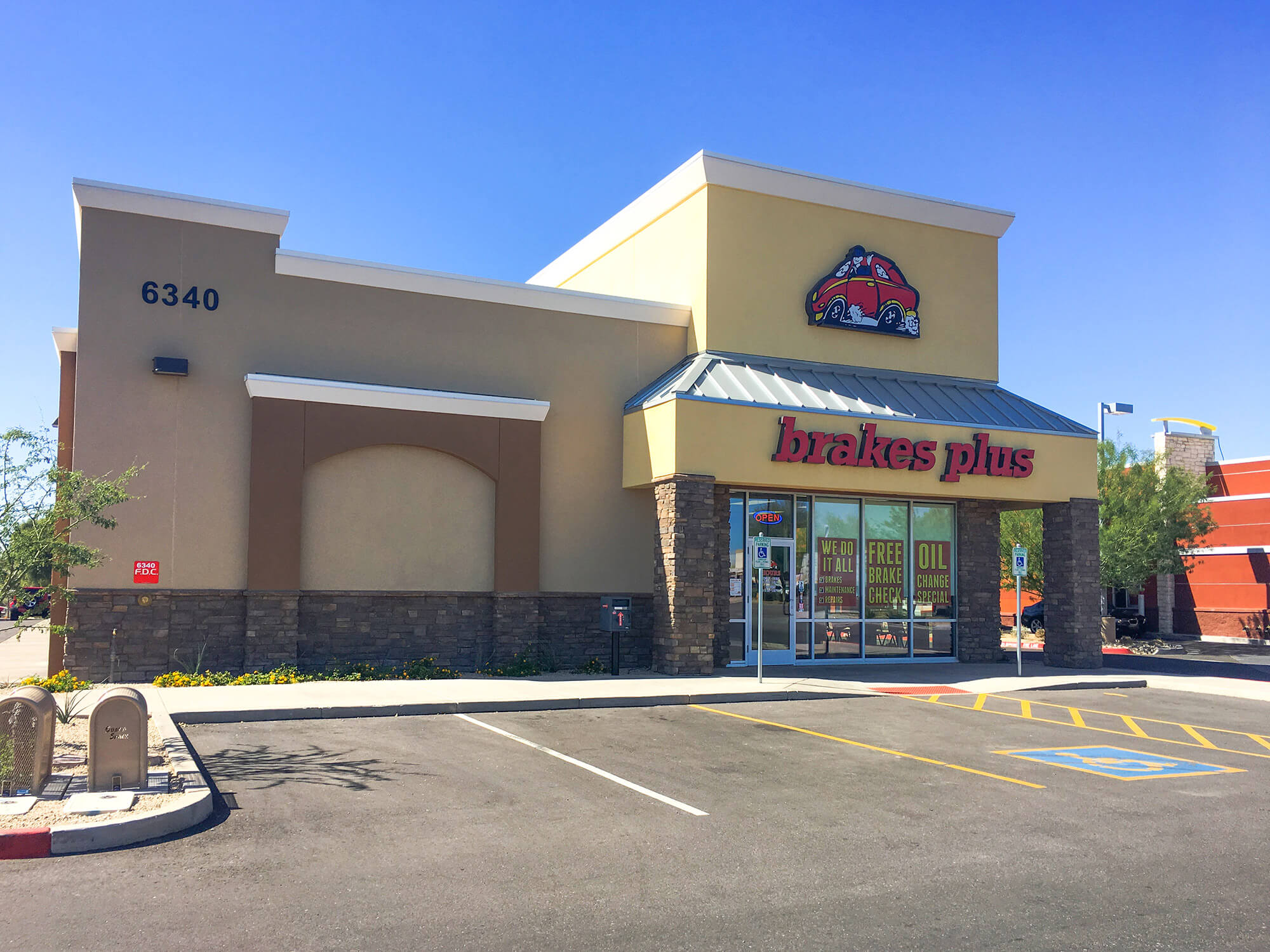 Brakes Plus at Gilbert, AZ - Chandler Heights Village