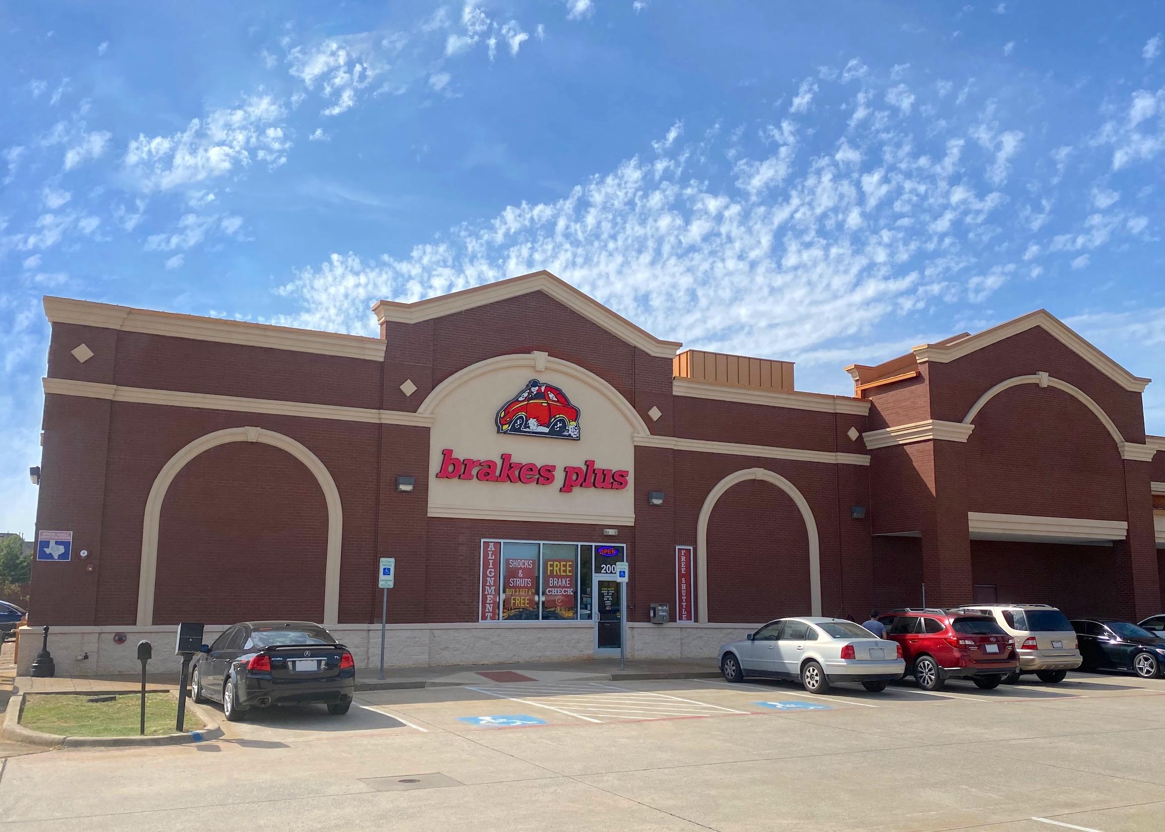 Brakes Plus at Frisco, TX - El Dorado