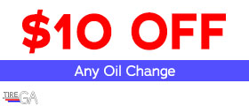 $10 Off Any Oil Change.