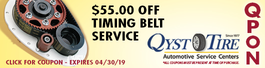Qyst Tire Timing Belte Service Coupon