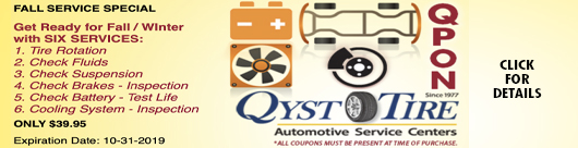 Qyst Fall Service Special Coupon