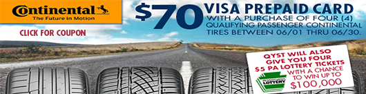 Continental Tire Promo ends June 30, 2020
