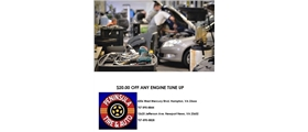 $20 Off Any Engine Tune Up