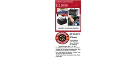 $10.00 Off Any Battery Purchase