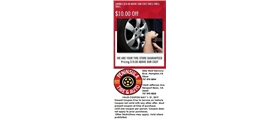 We are your tire store guaranteed pricing $10.00 above our cost