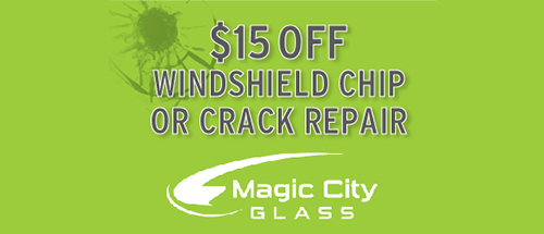 $15 off windshield chip or crack repair