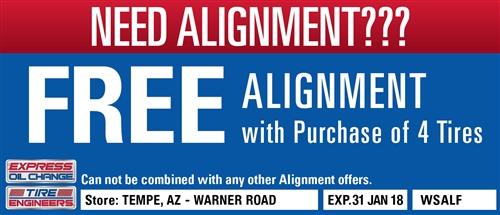 Free Alignment Warner Road
