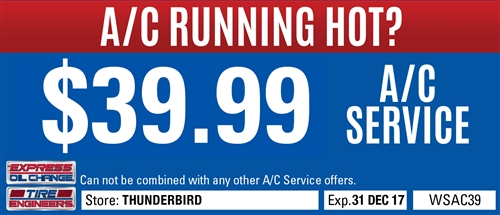 $39.99 A/C Service