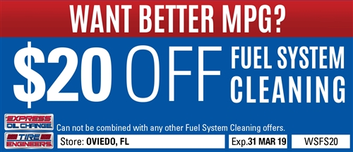 $20 off Fuel System Cleaning