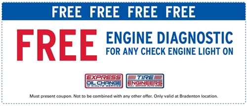 Free engine diagnostic for any check engine light on