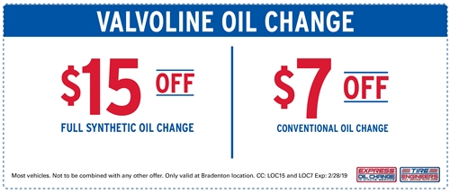 Valvoline Oil Change